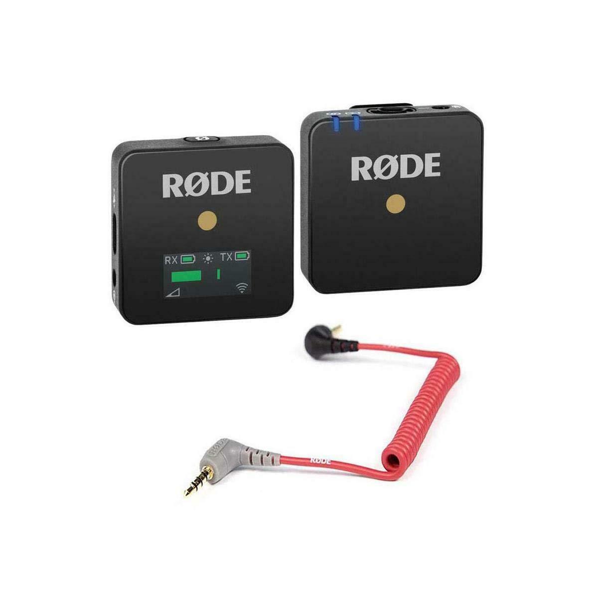 Rode - Transmisor y Receptor de micrófono inalámbrico GO Compacto ...