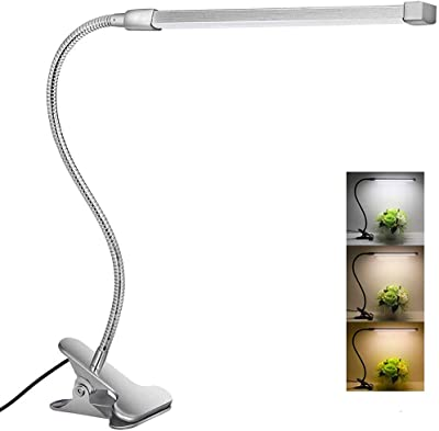 Usb Flexible Reading LED Lights Clip-on Beside Bed Bright Table Lamps Desk U5I8