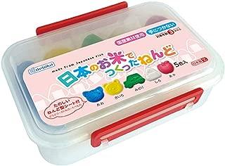 デビカ 粘土 日本のお米でつくったねんど 5色入 093111