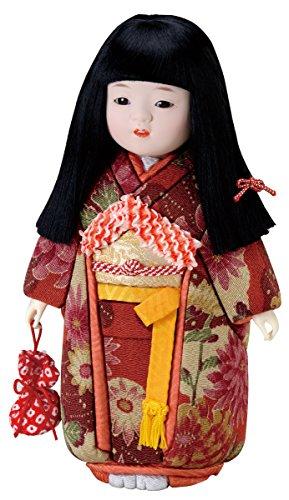 華市松(古布調)木目込み人形 材料セット(手芸材料・人形キット)