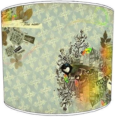 Premier Lampshades - Abat-Jour Tableau 30,5Cm De Diamètre Rétro Rêves Apporter Résumé Classiques