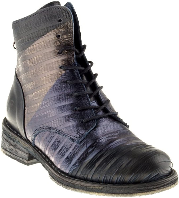 Felmini Damen Schuhe - Verlieben Verlieben Verlieben Cooper A728 - Schnürung Stiefel - Echtes Leder - Mehrfarbig  30440e