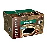 Caza Trail Coffee, Dark Roast, 100 Single Serve Cups