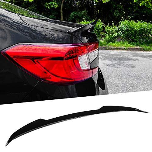 XZJDM Spoiler Trasero del Coche, Negro Brillante para JDM V-Style Car Trunk Tap Tapa Spoiler Fits for Accord 2018 2019 2020 Spoiler Wing