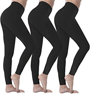 High Waisted Leggings for Women Ultra Soft Stretch Opaque...
