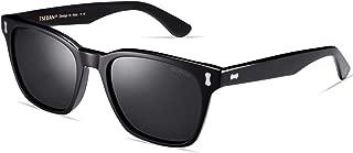 Vintage Polarized Sunglasses for Men UV400 Protection Lens Retro Acetate Frame