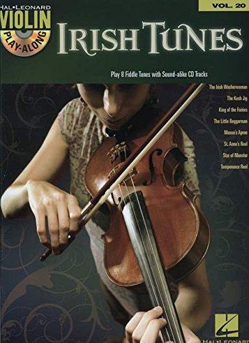 Violin Play-Along Volume 20: Irish Tunes: Play-Along, CD für Violine