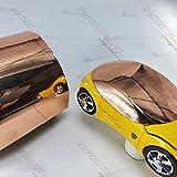 Avery Dennison SF100 Conform Chrome Rose Gold   211-S   Vinyl CAR WRAP Film (Sample 3in x 5in)