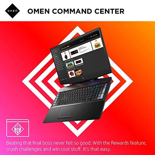 Omen by HP 2019 17-Inch Gaming Laptop, Intel i7-9750H, NVIDIA GeForce RTX 2080 (8 GB), 16 GB RAM, 512 GB Solid-State Drive, VR Ready, Windows 10 Home (17-cb0090nr, Shadow Black)