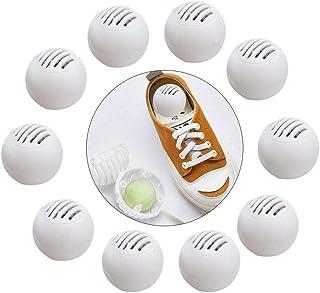 flower205 Odeur Eliminator Ball, Déodorant Enlèvement pour Sneakers en Cuir Armoire À Chaussures Élimination des Odeurs Dé...