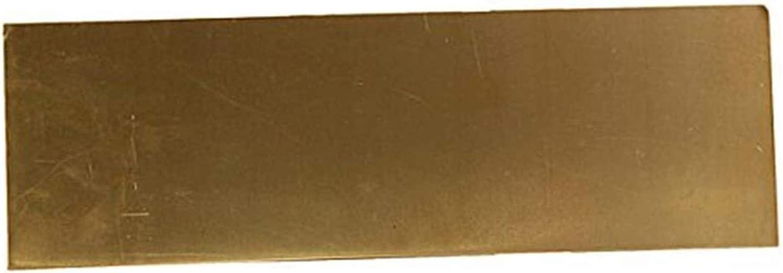 Wzqwzj Brass Max 61% OFF Sheet Percision Metals Sh Mesa Mall Raw Copper Materials Pure