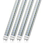 T8 LED Tube Light Bulbs 4FT, 36W 3600Lm 6000K Cool White Light, T8 T10 T12 Fluorescent Rep...