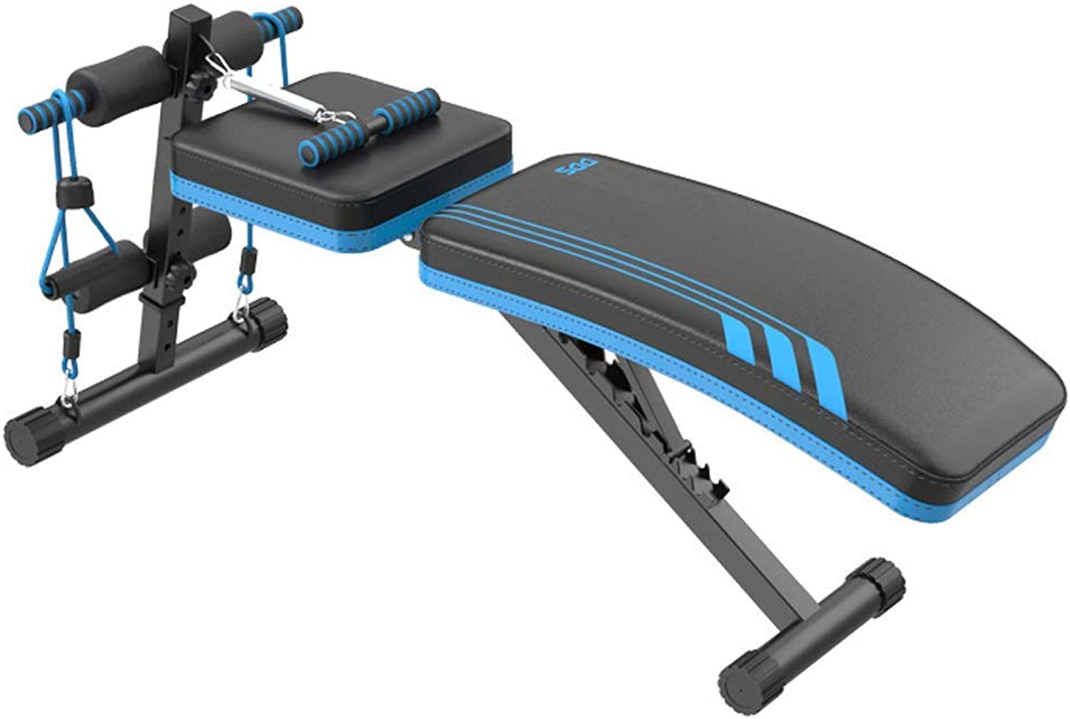 PLLP Fitness Chair, Dumbbell BenchMultifunctional Dumbbell Bench,Adjustable Sit up Bench Slant Board Pro Ab,Adjustable Workout Abdominal Exercise Multifunction Bench Board