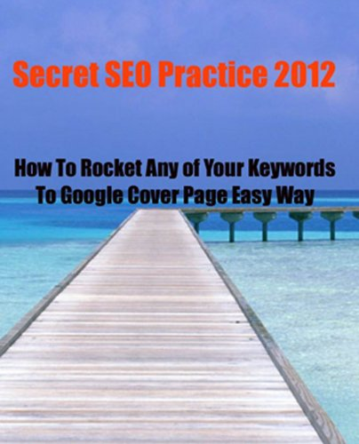 How To Rocket All Your Keywords To Google Cover Page Easy Way (English Edition)