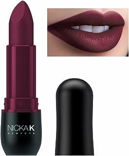 Nicka K New York Vivid Matte Lipstick (Violet Red)