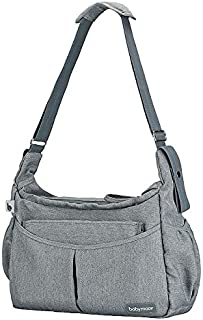 Babymoov Urban Diaper Bag | Multi-Function & Lighweight with 8 Pockets for Organized Storage (6 Accessories Included)