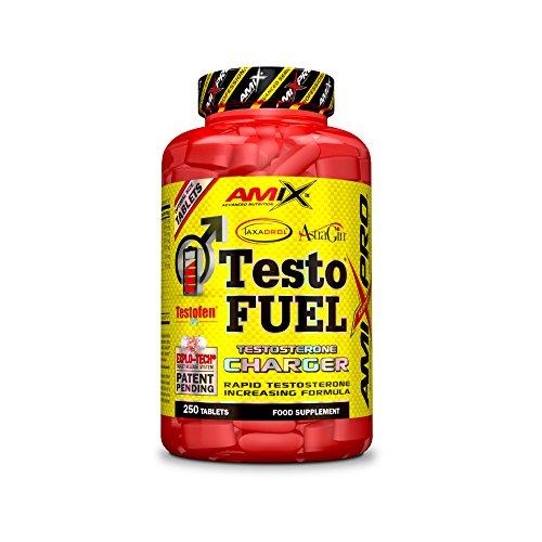 AMIX Nutrition, Testo F-200, Testosterone Charger, 180 Tabletas, Suplemento Alimenticio, Aumenta el Nivel de Testosterona, Aporta Fuerza, Energía y Resistencia, Refuerza el Sistema Inmunológico