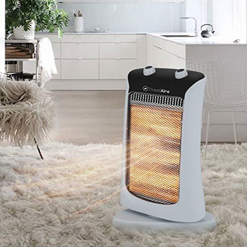 TRAVELAIRE Calefactor Electrico de Halogeno Marca Modelo TAE507