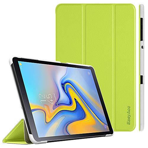 EasyAcc Hülle für Samsung Galaxy Tab A 10.5 2018 - Ultra Dünn mit Standfunktion Auto Sleep/Wake Up Funktion Slim PU Leder Schutzhülle Ideal Passt für Samsung SM-T590/T595 Tab A 10.5 Zoll, Grün