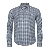 Barbour International Steve Mcqueen Gingham Antique Shirt White-L