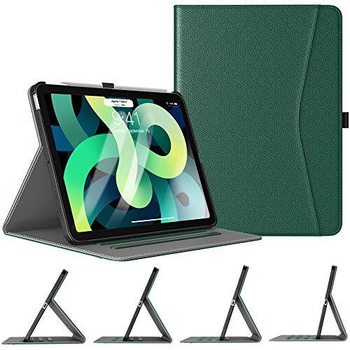 TiMOVO Funda Compatible con Nuevo iPad 10.9 Inch, iPad Air 4.ª Generación 2020, Protector de Multi-ángulo con Auto...