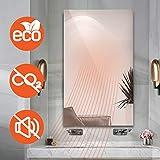 Infrarotheizung 580W Spiegelheizung mit Ein-/Ausschalter Spiegel Heizung Infrarot Wandheizung Heizplatte Heizpaneel Elektrisch Energieeinsparend Carbon Crystal mit CE RoHS - 2