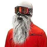 Beardski Biker Gray Ski Mask by Beardski