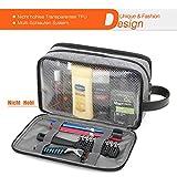 Kulturbeutel Kulturtasche Kosmetiktasche Toiletbag Waschtasche Aufbewährung von Badutensilien und Kosmetika für Frauen und Männer - 3