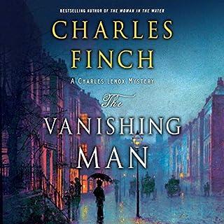 The Vanishing Man audiobook cover art