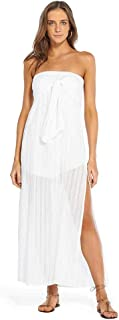 VIX Women's Solid Tess Strapless Dress