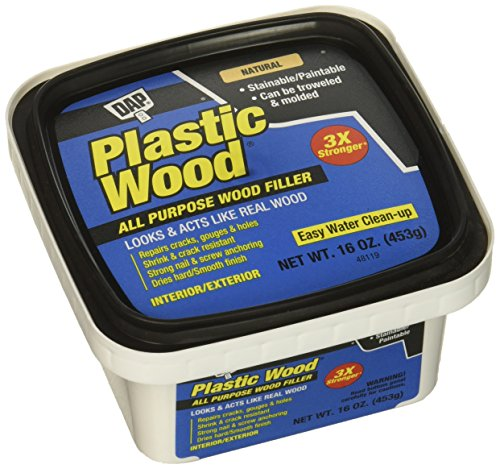 DAP Inc 16Oz Latex Plastic Wood Filler Inc 00529 16Oz Latex Plastic Wood Filler