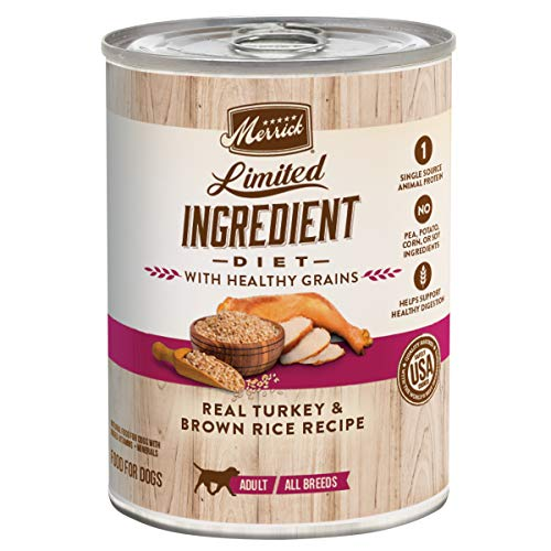 Merrick Limited Ingredient Diet Healthy Grains Wet Dog Food
