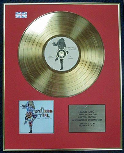 JETHRO TULL – Ltd Edition CD 24 Karat beschichtete Goldscheibe – Das Beste von