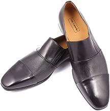 Guy Laroche Men's Leather Formal Shoes - Slip On Loafers