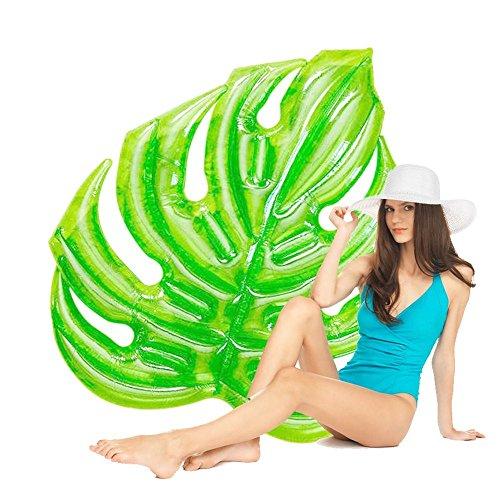 Susulv-TGAI Float Wave Aufblasbare Luftmatratze Aufblasbare PVC Blätter Pool Float Sitz für Erwachsene Kinder Kinder Mädchen Boys Float Toy Aufblasbare Poolschwimmer