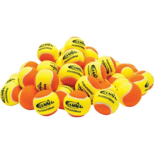 Gamma 60 Pressureless Practice Balls( COLOR: Yellow/Orange, HAND:N/A, SIZE:N/A, MODEL:N/A )