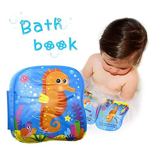 FOONEE Libro Da Bagno Per Bambini, Bath Libri Per Bambini Toddlers Libri Da Bagno Impermeabili Per Bambini, Per i Più Piccoli Libri Acquatici Da Vasca Bambini Giocattoli Da Bagno Impermeabili Neonati