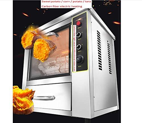 TX® Hornos comerciales de Acero Inoxidable, Patatas Fritas, 2500w hornos de maíz, 8 cestas Colgantes. (220V/50HZ)