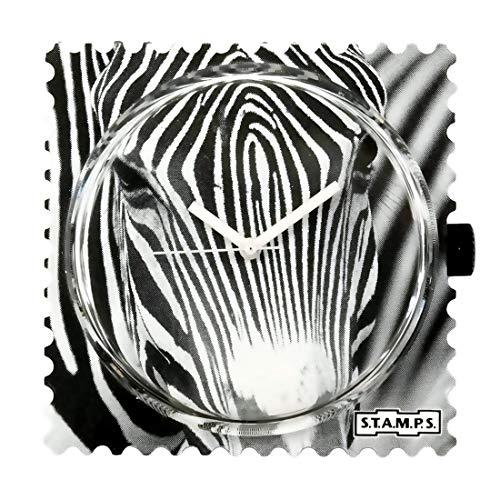 Stamps Femme Uhr Analogique Quartz mit Plastique Armband 105095
