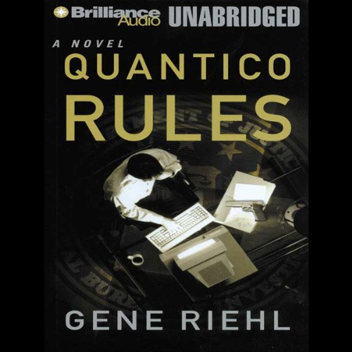Quantico Rules audiobook cover art