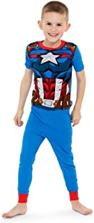 Marvel Boys' Avengers 4-Piece Cotton Pajama Set