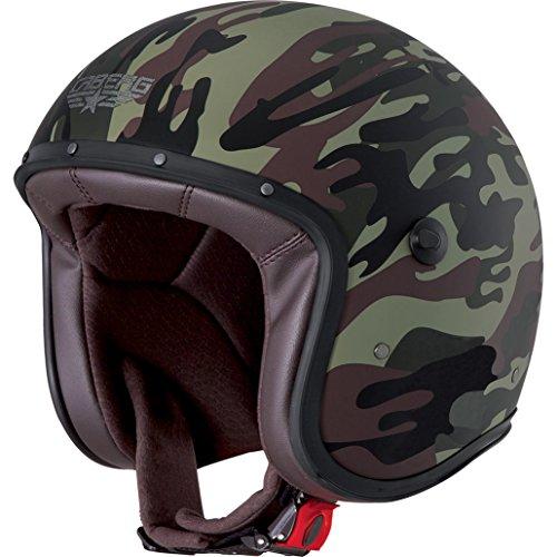 Caberg Jethelm Freeride Commander Camouflage grün matt/schwarz, Größe L