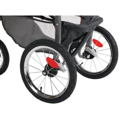 2014 Graco FastAction Fold Jogger Click Connect Stroller, Azalea