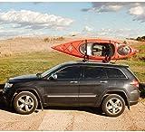 FQCD Kayak Carros, Equipo de navegación, canoas Porta Canoa Barco de Paleta Junta Tabla de Surf Techo de Montaje Superior en el Coche SUV Camiones, 2 Piezas, tamaño: 2 Piezas (Size : 2PCS)