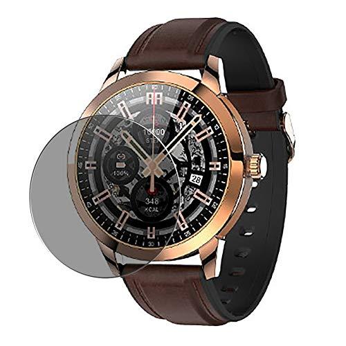 Vaxson Protector de Pantalla de Privacidad, compatible con king wear KingWear KW50 Smartwatch smart watch [no vidrio templado] TPU Película Protectora Anti Espía