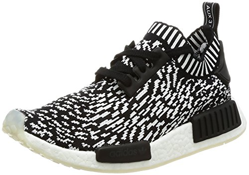 adidas Unisex-Kinder NMD_r1 Pk Sneakers, Mehrfarbig (Core Black/core Black/FTWR White), 40 2/3 EU