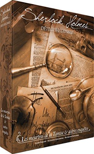 Sherlock Holmes SCSHDC01FR Sherlock Detektive Holmes TIPP: Die Morder der der Tamise & andere Erfindungen, Mehrfarbig