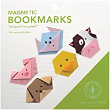 Magnetic Origami Bookmarks - Animals