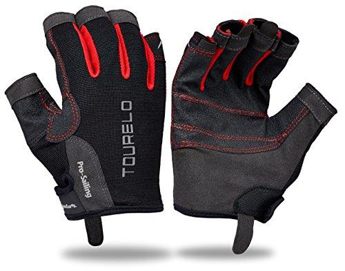 Tourelo Sailing Gloves Gen 2 (Lava Red, X-Large)