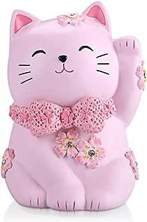 Yooce Kitty Cat Coin Piggy Bank Pet Money Saving Box Nursery Decor for Baby